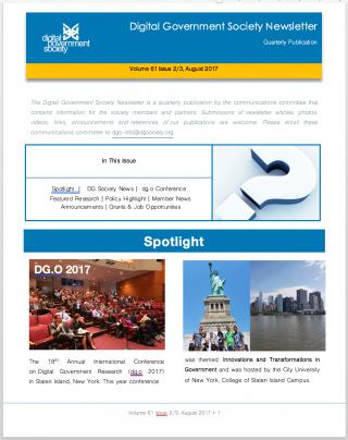 DGS Newsletter Volume 61 Issues 1 (Mar 2017)