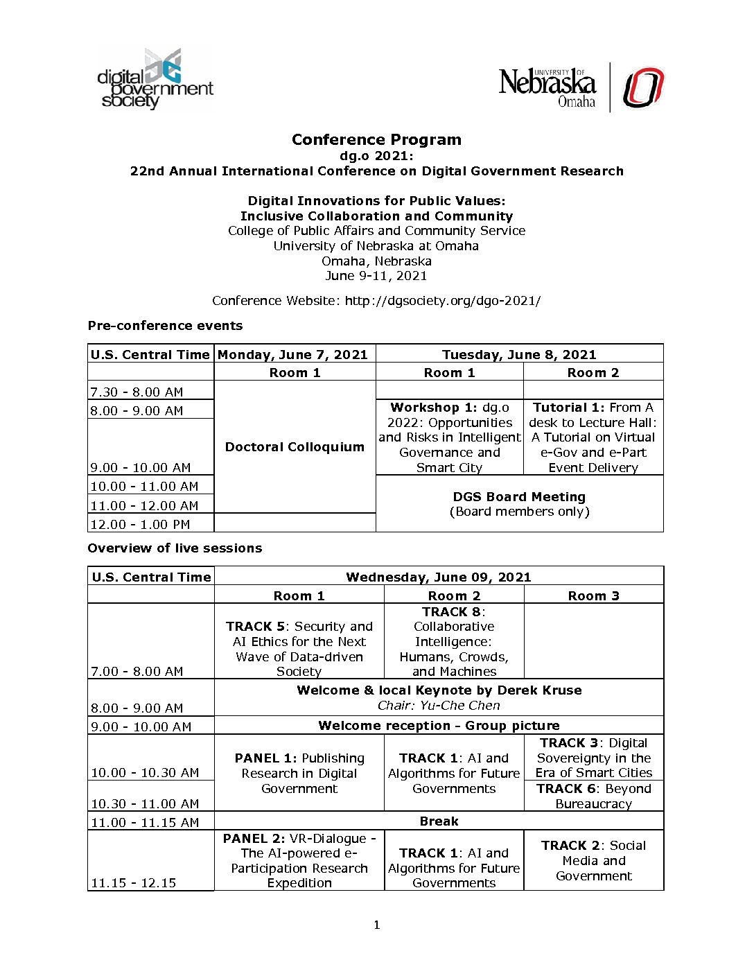 Download a Full Conference Program